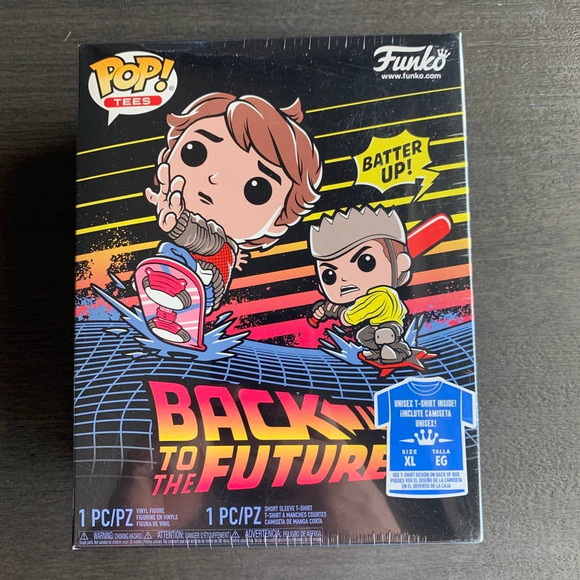 Funko Pop & Tee Back to the Future Marty